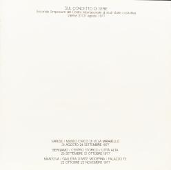 catalogo Alberto Zilocchi 1977
